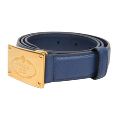 Prada Belt Blue