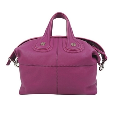 Givenchy Nightingale Small Shoulder Bag Purple