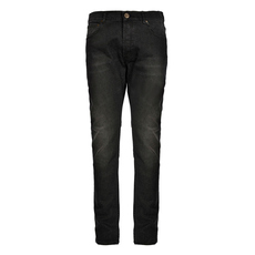Alexander Mcqueen Buttons On Stretch Jeans Black
