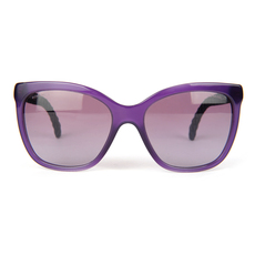 Chanel Women's Sunglasses Purple/Blue