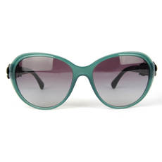 Chanel Women's Sunglasses Green