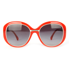 Chanel Women's Sunglasses Red