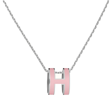 Hermès Pop H Necklace Rose