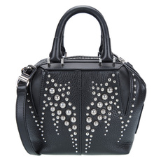 Alexander Wang Studded Mini 'Emile' Tote Black