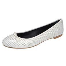 Saint Laurent Women's Flats White