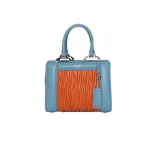 Miu Miu Tote Bag Light Blue/Orange