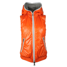 Duvetica Hooded Zip Vest Orange