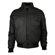 Hogan Zip Fornt With Zip Pocket Jacket Black
