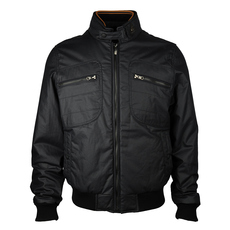 Hogan Zip Fornt With Zip Pocket Jacket Navy