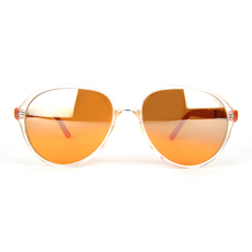 Police Women's Sunglasses Transparent/Orange
