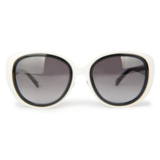 Escada Women's Sunglasses Black/White