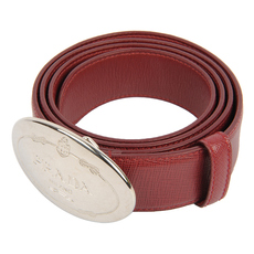 Prada Belt Burgundy