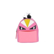 Fendi Bag Bugs Backpack-Shaped Bag Charm Fuchsia