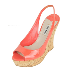 Miu Miu Women's Heels Orange