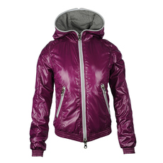 Duvetica Short Length Zip Up Jacket Purple