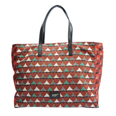 Red Valentino Geometric Pattern Tote