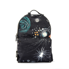 Valentino Garavani Cosmos Printed Nylon Backpack