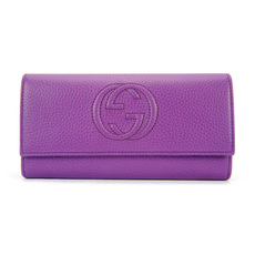 Gucci Long Wallet Purple