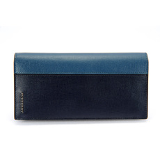Burberry Long Wallet Black/Blue