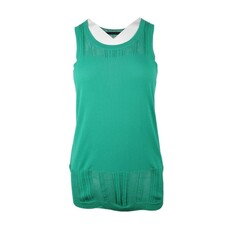 Proenza Schouler Plain Color Sleeveless Top Green