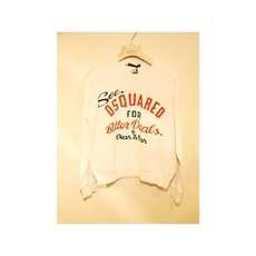 Dsquared2 Logo Print Sweatshirt White