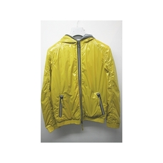 Duvetica Hooded Two Way Zip Down Jacket Yellow