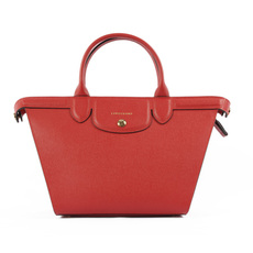 Longchamp Le Pliage Heritage Tote Bag Red