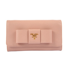 Prada Wallet On Strap Pink