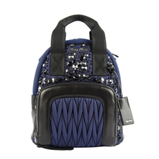 Miu Miu Backpack Ink Blue