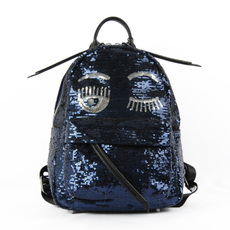 Chiara Ferragni Mini 'Flirting' Backpack Blue