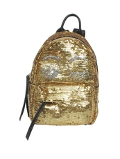 Chiara Ferragni Mini 'Flirting' Backpack Gold