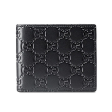 Gucci Signature Bi-Fold Wallet Black