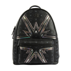 Mcm Dual Stark Cyber Flash Medium Backpack Black