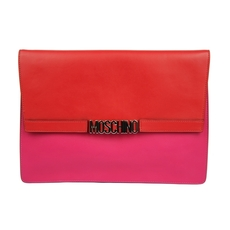 Moschino Shoulder Bag Pink/Red