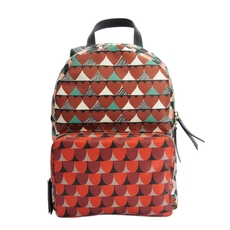 Red Valentino Printed Nylon Backpack