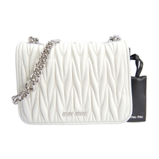 Miu Miu Shoulder Bag White