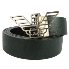 Emporio Armani Belt Dark Green