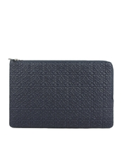 Loewe Double Flat Pouch Bag Marine