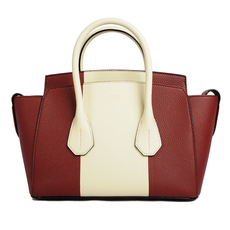 Bally Small Sommet Tote Bag Red/White