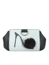 Moschino Shoulder Bag Black/White