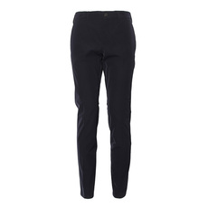 Prada Slim Fit Stretch Twill Pants Black
