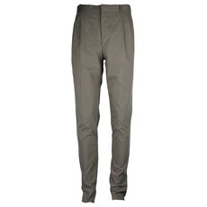 Prada Two Pleats Button Fornt Pants Grey
