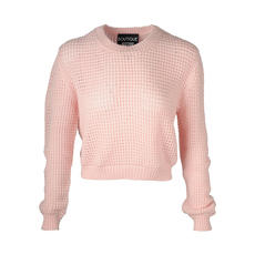 Boutique Moschino Short Sweater Pink
