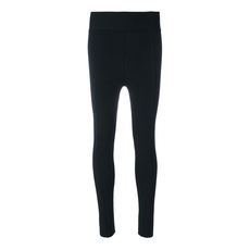 Proenza Schouler Elastic Waistband Copped Leggings Black