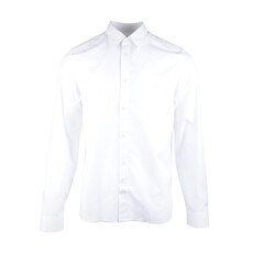 Kenzo Screw Back Logo Shirt White
