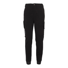 Versace Two Flat Pockets On Leg Pants Black