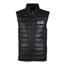 Emporio Armani Quilted Down Vest Black