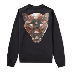 Marcelo Burlon County Of Milan Multi Rufo Printed Sweatshirt Black