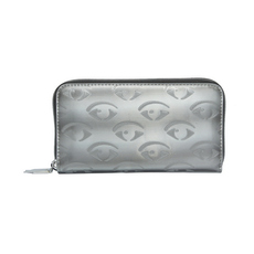 Kenzo Multi Eye Zip Around Wallet Grey
