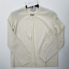 Salvatore Ferragamo Global Galleria Permium Cardigan Beige